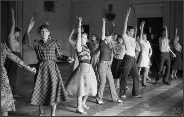 Aprendiendo bailes, Novokuznetsk, 1983