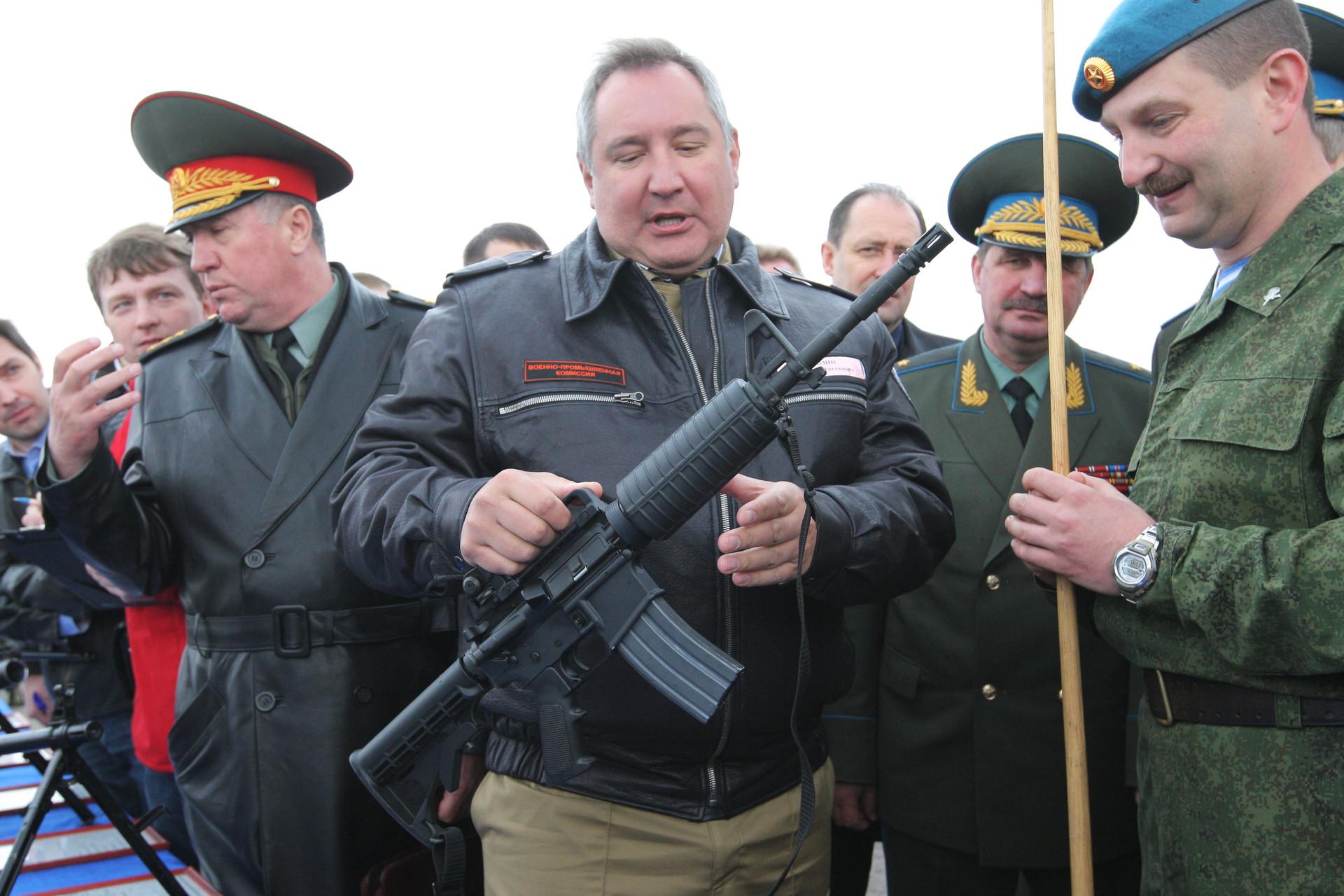 En un polígono militar cerca de Tula