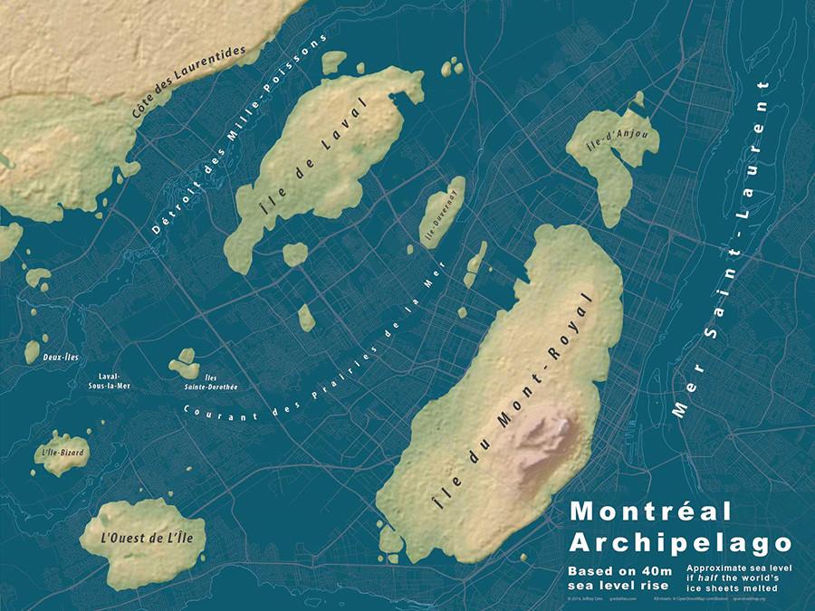 Montreal archipielago
