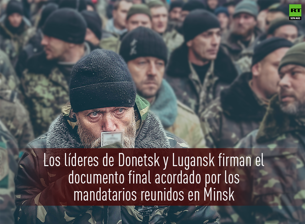 MINUTO A MINUTO: Las decisivas conversaciones en Minsk sobre el conflicto ucraniano