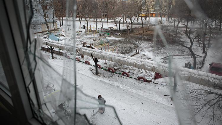 Gorlovka víctima de los bombardeos incesantes