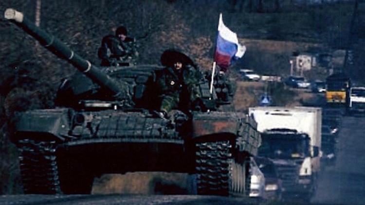 Tanques y soldados rusos / Fotos del senador Inhofe
