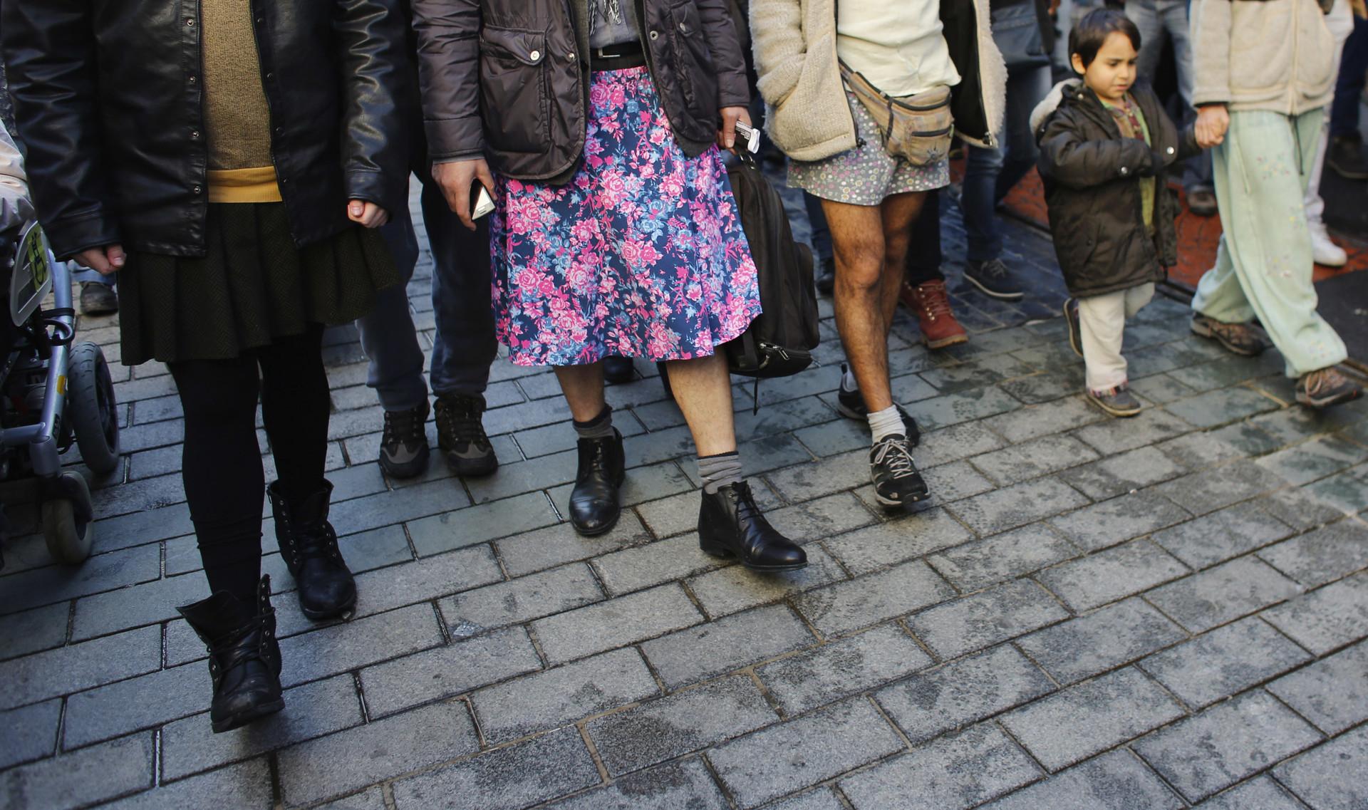 Minifalda y ataque sexual