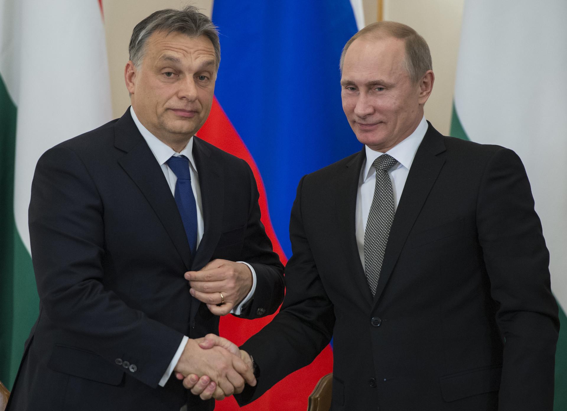 Visita de Putin a Hungría