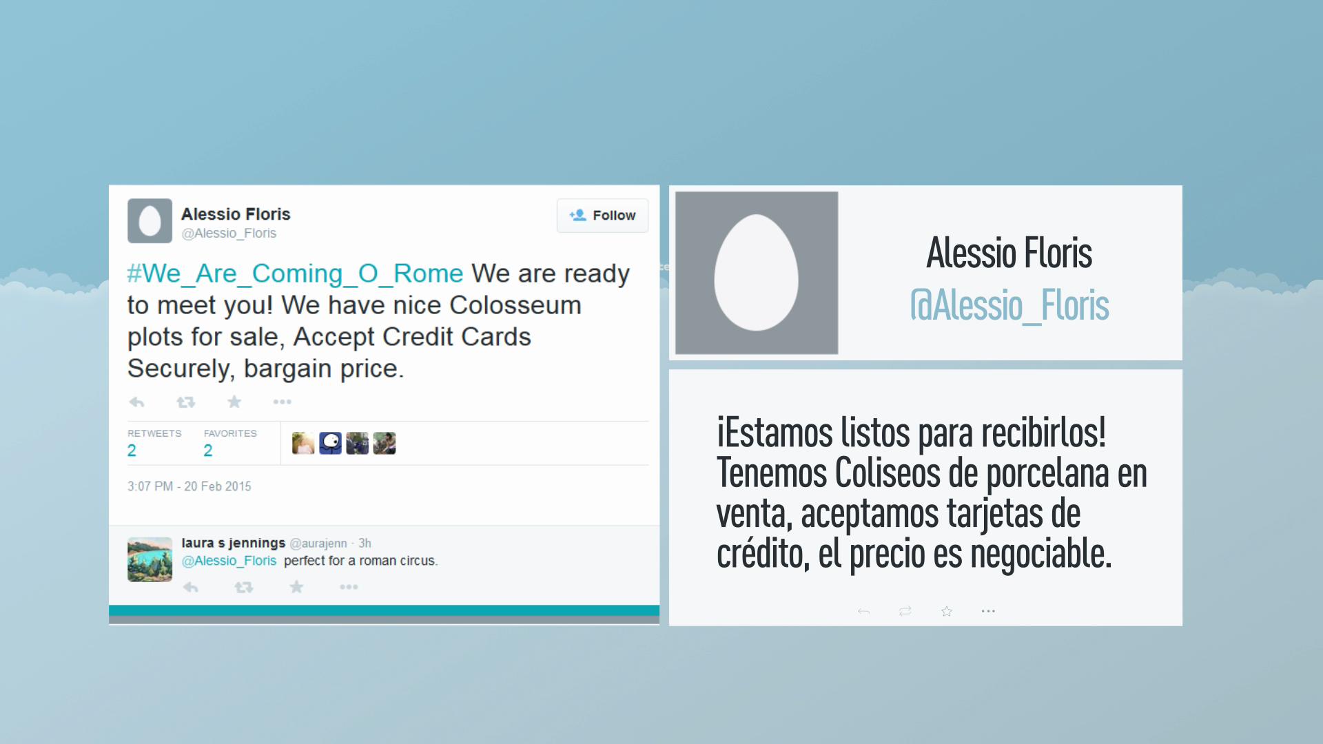 Los italianos se burlan de la amenaza del EI de invadir Roma