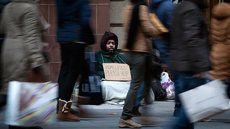 La crisis de la clase media, que ahora se percibe en la sociedad estadounidense.