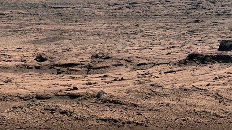 Curiosity en el Planeta Rojo