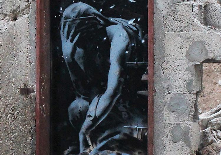 Video: El legendario Banksy revela los horrores de la Gaza devastada