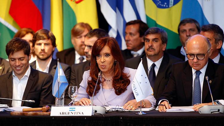 Kristina Fernándes y Mercosur