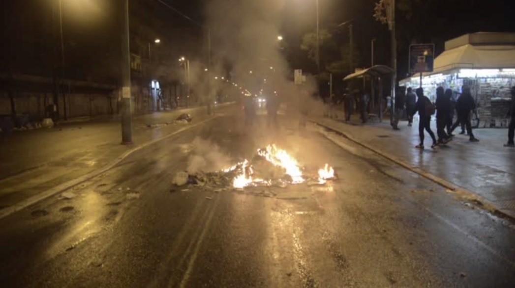 Desturbios en Grecia