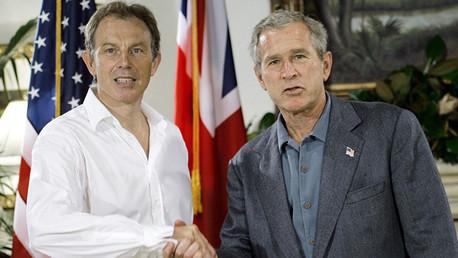 George Bush y Tony Blair planeaban derrocar a Saddam Hussein 2 años antes de la guerra en Irak