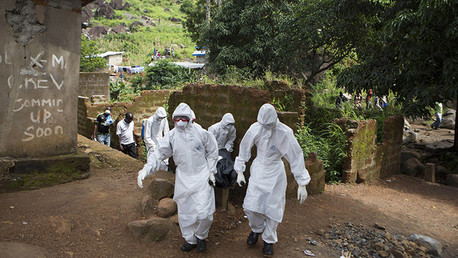 Ébola arma biológica