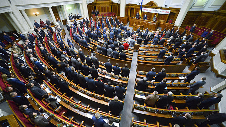 Un deputado de Ucrania ofrece encarcelar por criticar a las autoridades
