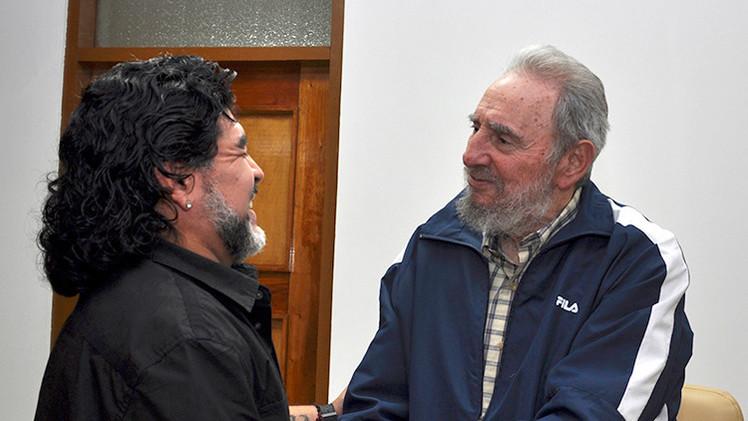 """Diego Maradona: """"Fidel Castro está más vivo que nosotros"""""""