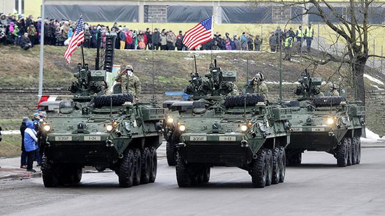 """""""Las provocaciones de EE.UU. en la frontera de Rusia amenazan a Europa Oriental"""""""