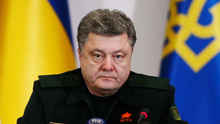 Poroshenko promulga la ley que exige una misión de paz de la ONU y la UE en Ucrania