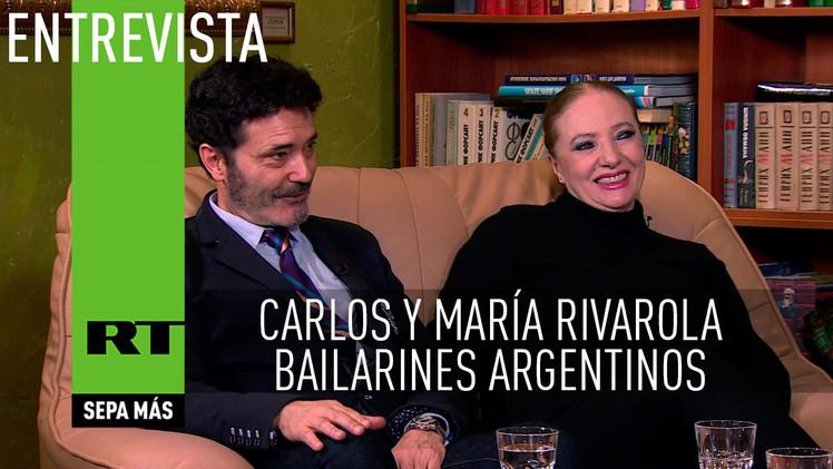 Entrevista con Carlos y María Rivarola, bailarines argentinos
