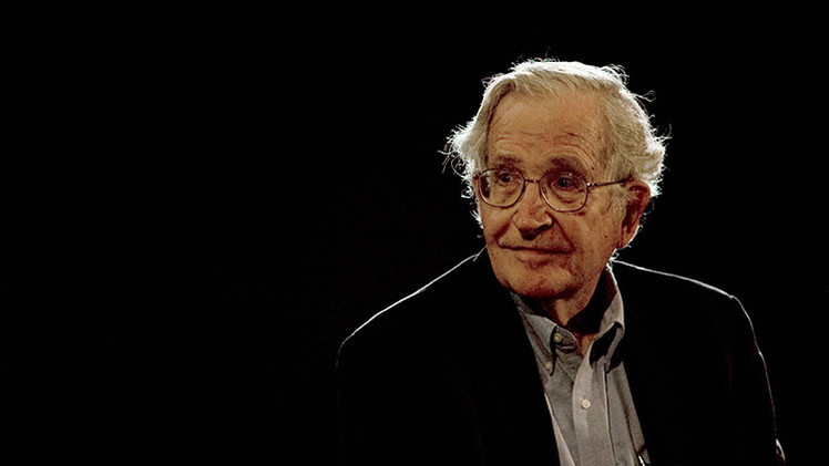 """Chomsky: """"Israel es un Estado agresivo"""""""