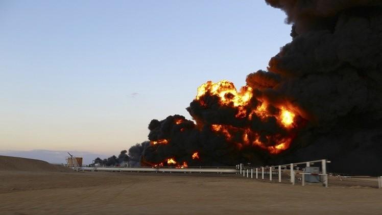 Libia declara fuerza mayor después de ataques en 11 campos de petróleo