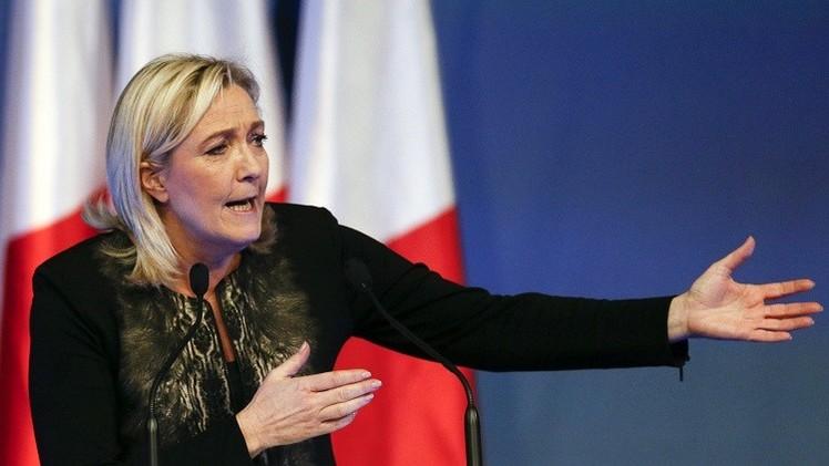 Marine Le Pen insta a Francia a dar la espalda a EE.UU. y unirse con Rusia