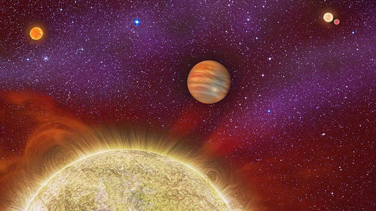 ¿Puede amanecer cuatro veces?: Astrónomos descubren un exoplaneta con cuatro soles