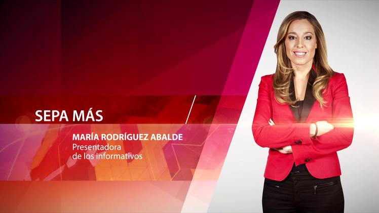 María Rodríguez Abalde, presentadora de los informativos
