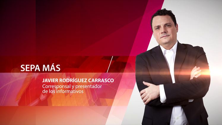 Javier Rodríguez Carrasco, corresponsal y presentador de los informativos