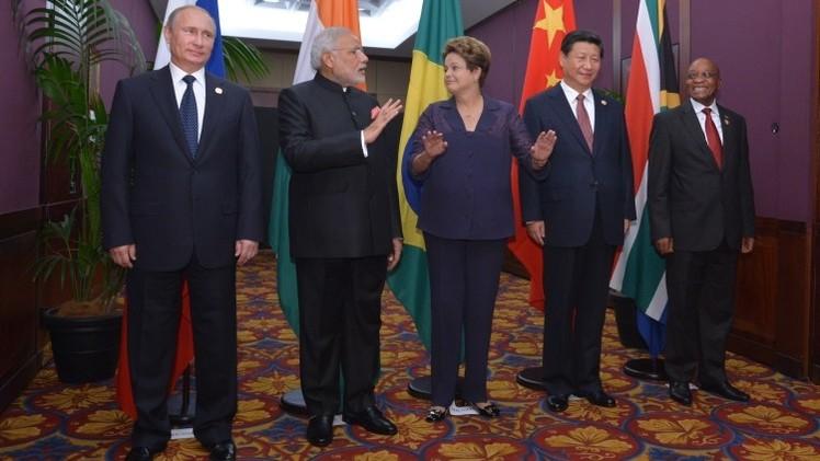 Los líderes del grupo BRICS