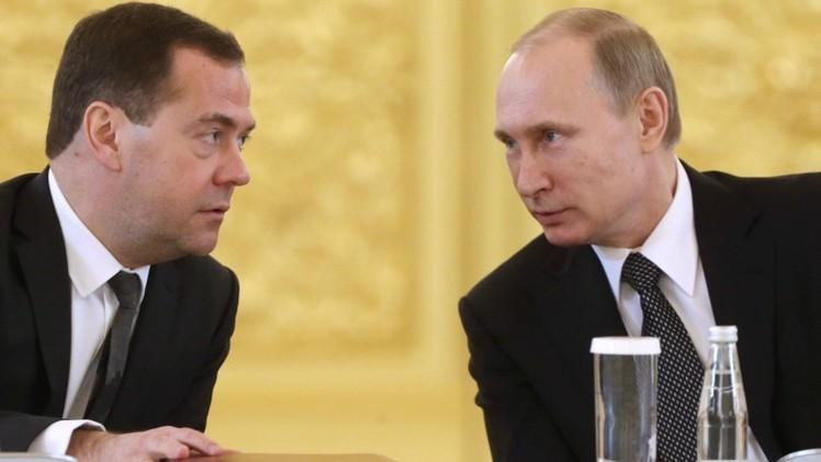 Putin reduce su salario y el del primer ministro en un 10%