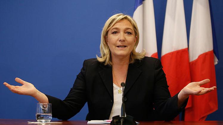 """Marine Le Pen: """"Abandonar el euro es la única solución para Francia"""""""