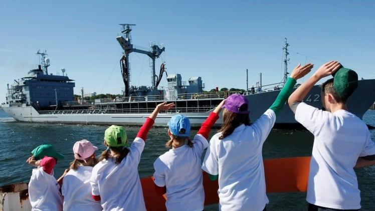 VIDEO: La OTAN inicia un simulacro naval en el mar Negro