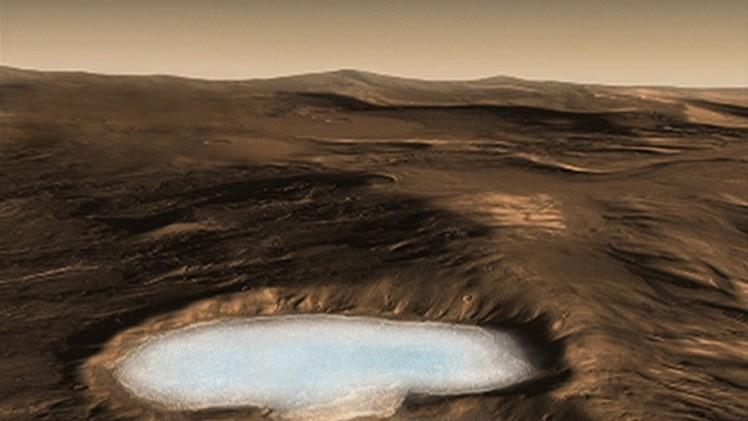 El hielo seco podría ayudar a los primeros colonos de Marte