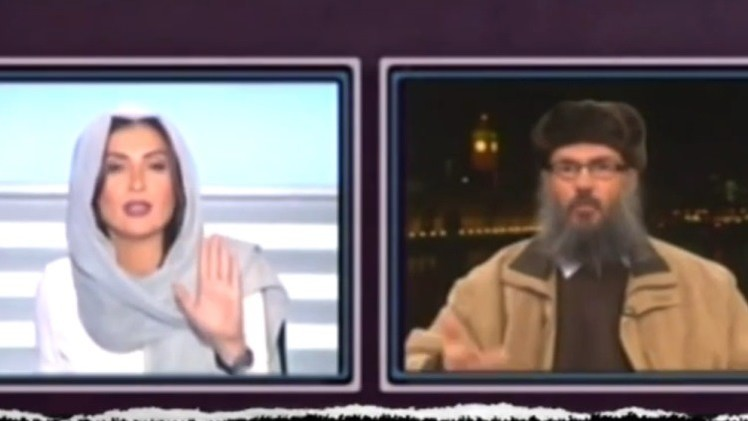 Presentadora de televisión libanesa silencia al clérigo islamista por su falta de respeto