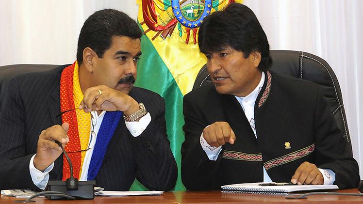 """Morales urge una reunión de emergencia de UNASUR y pide a la Celac """"defender"""" a Venezuela"""