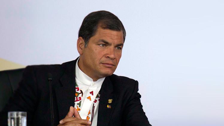 """Correa sobre sanciones a Venezuela: """"Una broma de mal gusto"""""""