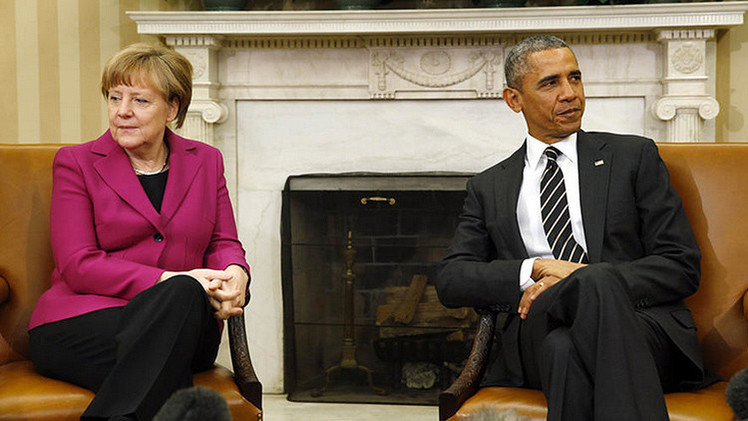 Angela Merkel disuadió a Barack Obama de suministrar armas a Ucrania