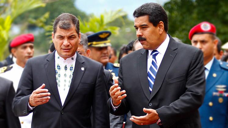 """Ecuador rechaza un """"ataque inaceptable"""" de EE.UU. contra Venezuela"""