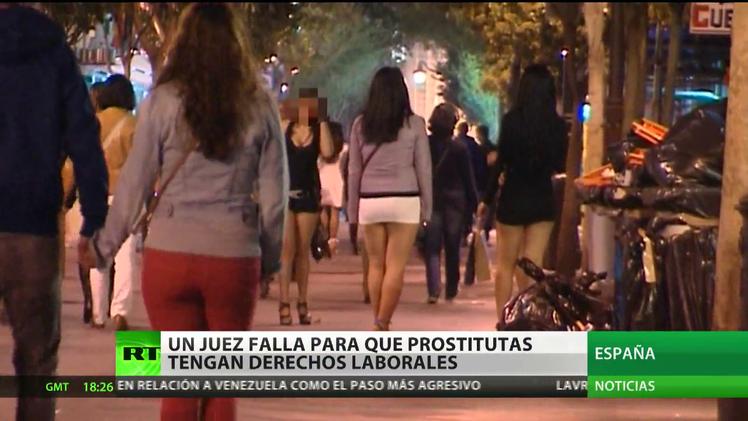 España: Un juez por primera vez reconoce los derechos laborales de las prostitutas