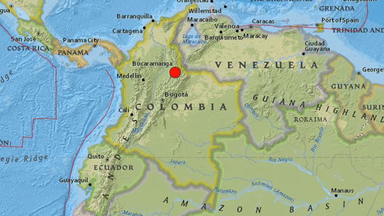 Se registra un sismo de magnitud 6.6 en Colombia y Venezuela