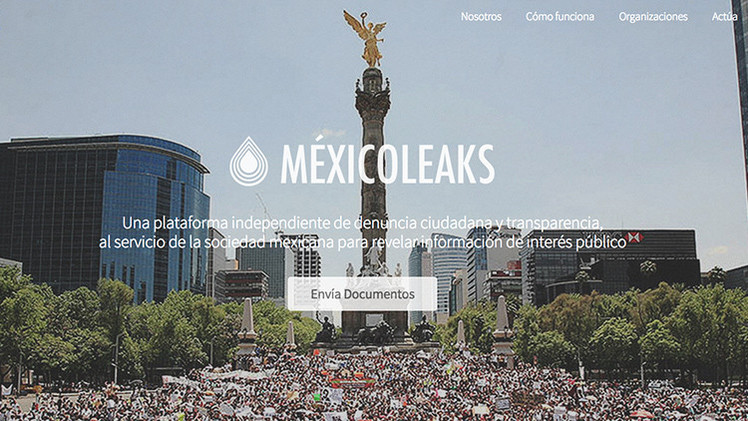 Llega MéxicoLeaks, una plataforma destinada a combatir la corrupción