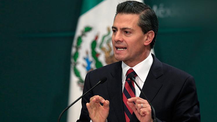"""Peña Nieto: """"México lleva décadas de estabilidad política y social"""""""