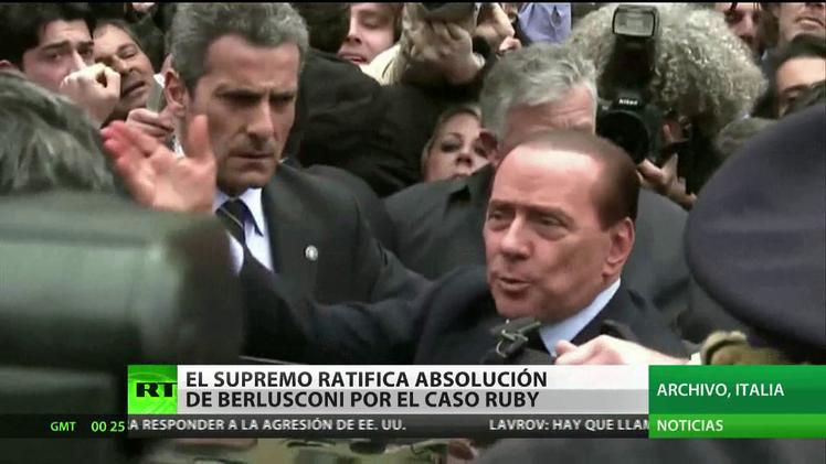 Italia: El Tribunal Supremo ratifica la absolución de Berlusconi por el 'Caso Ruby'
