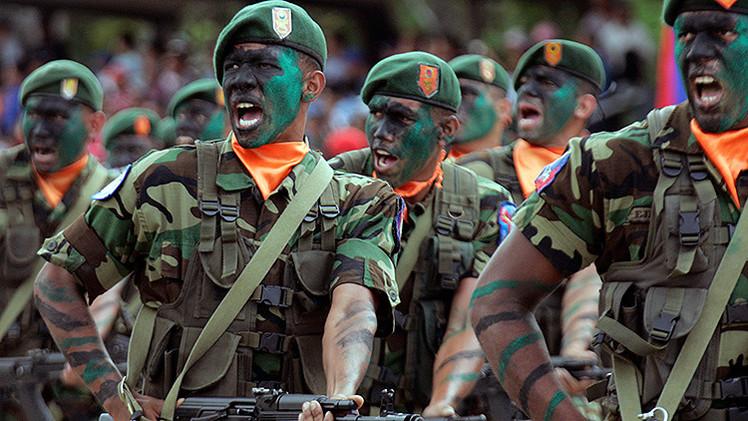 Maduro anuncia en Venezuela ejercicio militar especial de defensa