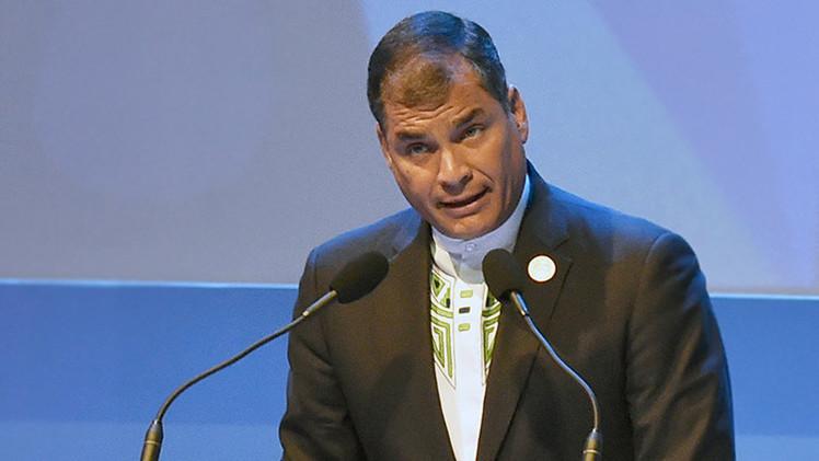 Correa: La Unasur se reunirá para responder a la 'injerencia' de EE.UU. en Venezuela
