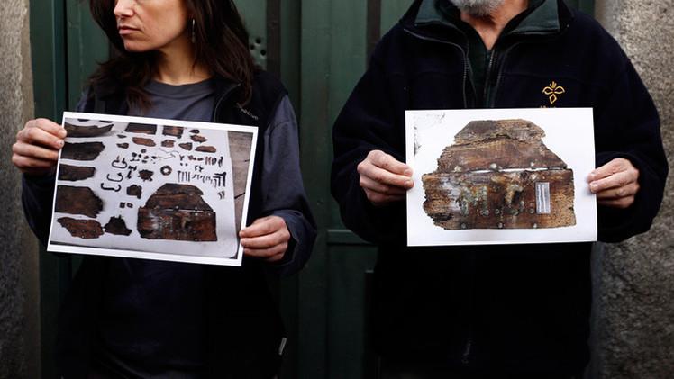 Investigadores creen haber hallado los restos de Cervantes y su esposa