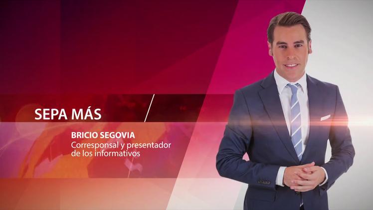 Bricio Segovia, corresponsal y presentador de los informativos