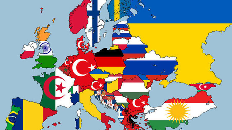 MAPA: Descubra las 'segundas nacionalidades' de los países europeos
