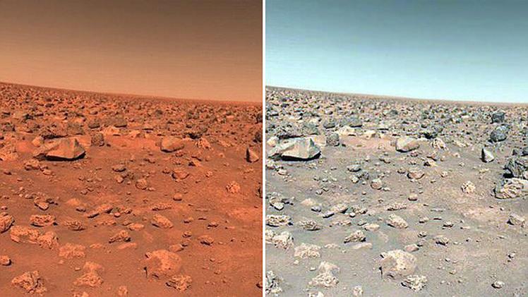 El debate sobre el color del vestido llega a Marte: ¿Es realmente rojo el planeta rojo?