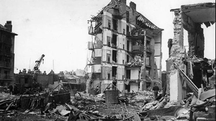 Revelan que Hitler bombardeó a miles de alemanes para probar cohetes V-2