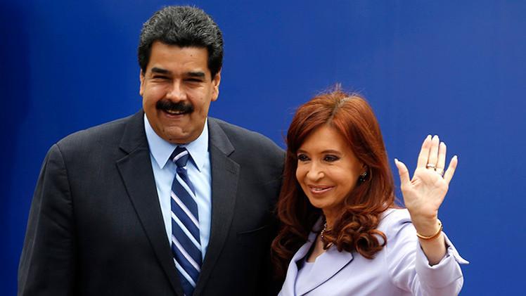 Argentina apoya a Venezuela por la denuncia de EE.UU.